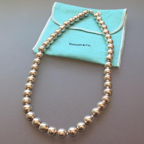 58b597f19 Tiffany Sterling Silver HardWear Ball Necklace. M_5a50df27a6e3eac8fe007408